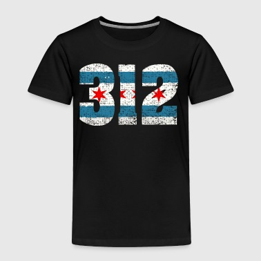 312 Chicago Flag Shirts, Hoodie, Apparel, Clothing - Toddler Premium T-Shirt