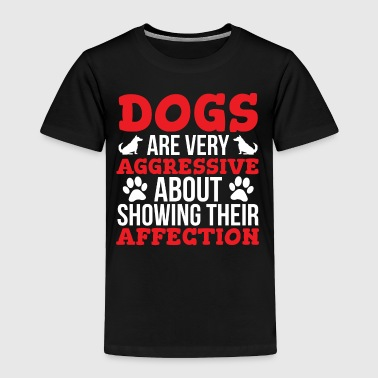 Dogs Affection Cute Dog Lover T-shirt - Toddler Premium T-Shirt