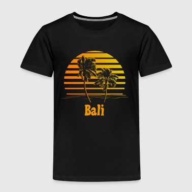 Bali Sunset Palm Trees - Toddler Premium T-Shirt