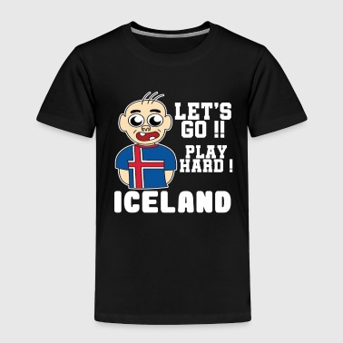 Iceland Football World cup Soccer Championship world champion ball - Toddler Premium T-Shirt