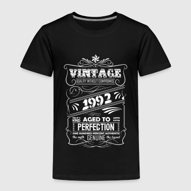 Vintage Aged To Perfection 1992 - Toddler Premium T-Shirt