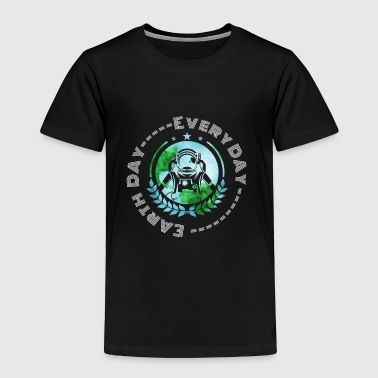 Astronaut Space Earth Day - Toddler Premium T-Shirt
