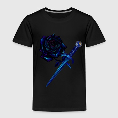 The Black Rose and Dagger - Toddler Premium T-Shirt