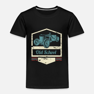 Old Old School - classic oldtimer vintage cars - Toddler Premium T-Shirt