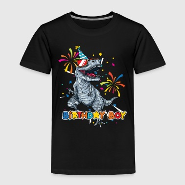 Trex Birthday Boy - Toddler Premium T-Shirt