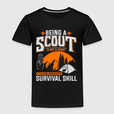 Scouts Scoutings Scout Sign Salute Camp Boys Girls - Toddler Premium T-Shirt