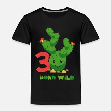 Happy 3rd Birthday Cute Cactus