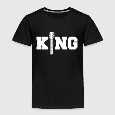 Guitar King-Concert-Festival-Music-Guitarist Gift - Toddler Premium T-Shirt