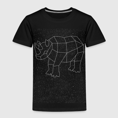 Rhino Constellation - Toddler Premium T-Shirt