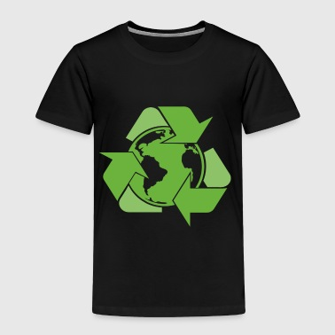 Recycle Earth Green - Toddler Premium T-Shirt