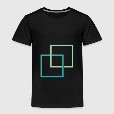 Squares - Toddler Premium T-Shirt