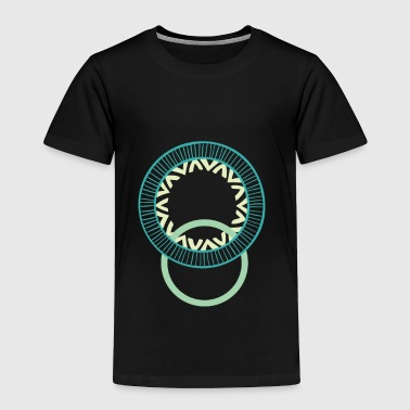Circles - Toddler Premium T-Shirt