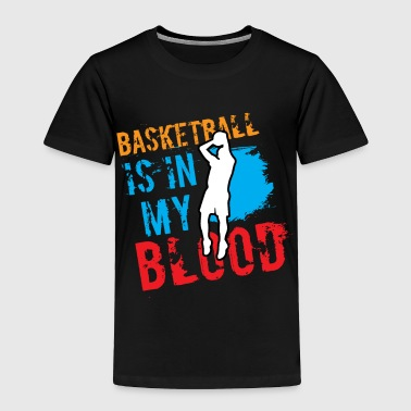 Basketball Player Game Sports Club - Toddler Premium T-Shirt