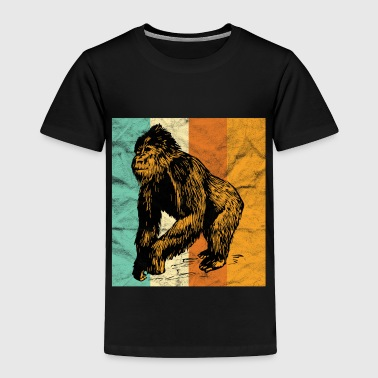 King Kong Gorilla Ape Monkey Safari gift - Toddler Premium T-Shirt