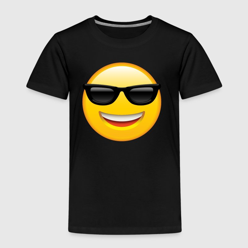 SMILEY FACE EMOTICON - Toddler Premium T-Shirt