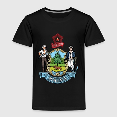 Maine - Toddler Premium T-Shirt