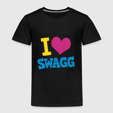 I love swagg - Toddler Premium T-Shirt
