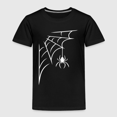 Spider with web - Toddler Premium T-Shirt