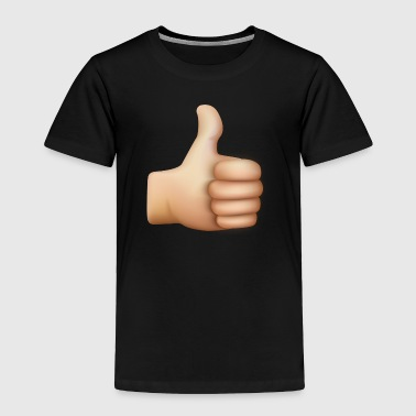 THUMBS UP EMOTICON - Toddler Premium T-Shirt