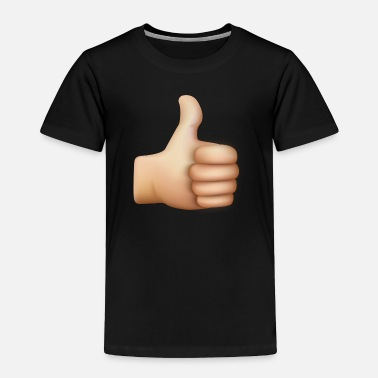 Cartoon Thumbs Up THUMBS UP EMOTICON - Toddler Premium T-Shirt