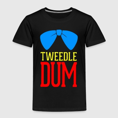 Tweedle Dee Tweedle Dum - Toddler Premium T-Shirt