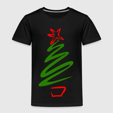 Christmas tree - Toddler Premium T-Shirt