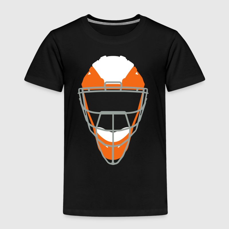 Catchers Mask - Toddler Premium T-Shirt