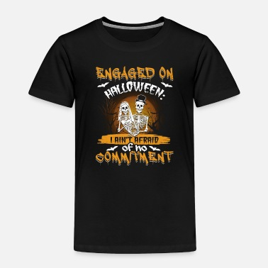 Engagement Party Halloween Engagement Party Gift Idea - Toddler Premium T-Shirt