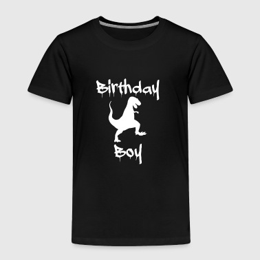 Birthday Boy Dinosaur - Toddler Premium T-Shirt