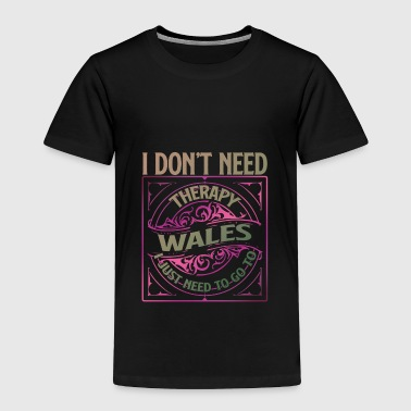 Love Wales Wales - Toddler Premium T-Shirt