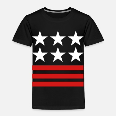 Stars And Stripes Stars & Stripes - Toddler Premium T-Shirt