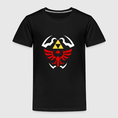 Hylian Shield Legend of Zelda vectorized - Toddler Premium T-Shirt