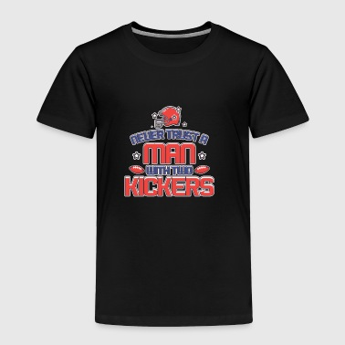 Kicker WITH TWO KICKERS - Toddler Premium T-Shirt