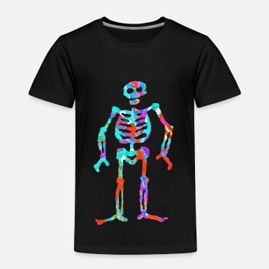 Neon artTS ELECTRIC NEON SKELETON multi - Toddler Premium T-Shirt