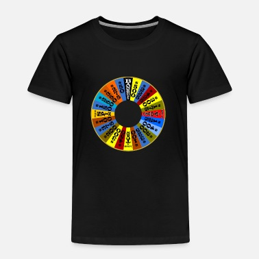 Wheel Wheel of Fortune logo Shirt - Toddler Premium T-Shirt