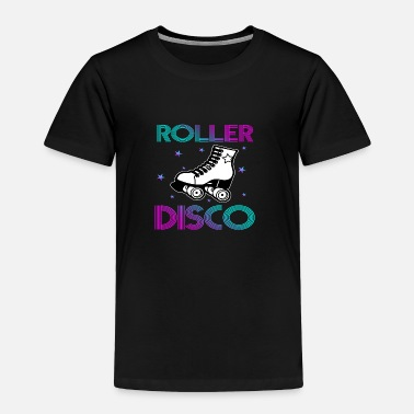 Retro Cool Vintage Roller Disco Retro 70s and 80s party - Toddler Premium T-Shirt