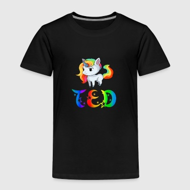 Ted Unicorn - Toddler Premium T-Shirt