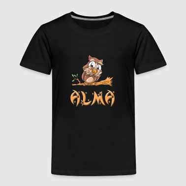 Alma Owl - Toddler Premium T-Shirt