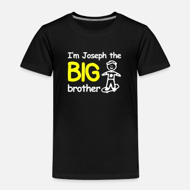 Brother Personalised I m The Big Brother - Toddler Premium T-Shirt