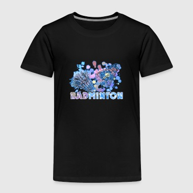 BADMINTON TEE SHIRT - Toddler Premium T-Shirt