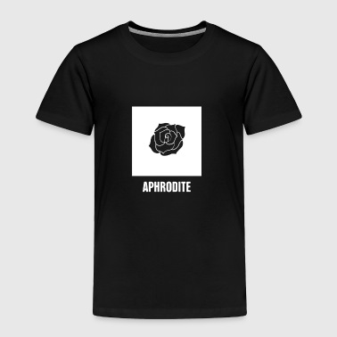 Aphrodite | Greek Mythology God Symbol - Toddler Premium T-Shirt
