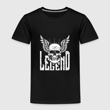 Legend Skull with Wings - Toddler Premium T-Shirt