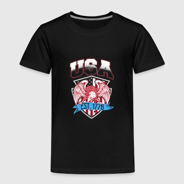 USA Established 1776 - Toddler Premium T-Shirt