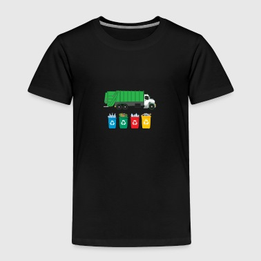 Recycle Garbage - Toddler Premium T-Shirt