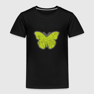 Insect Yellow Butterfly - Toddler Premium T-Shirt