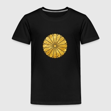 Kiku Chrysanthemum Mon go - Toddler Premium T-Shirt