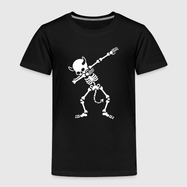 Dab Skeleton Dab dabbing skeleton devil - Toddler Premium T-Shirt