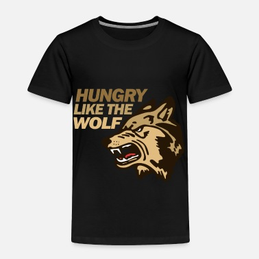 Groups Hungry Wolf Duran - Toddler Premium T-Shirt