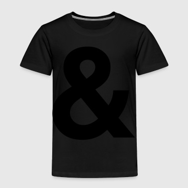 ampersand - Toddler Premium T-Shirt
