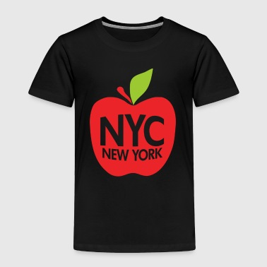 Green Big Apple NYC - Toddler Premium T-Shirt